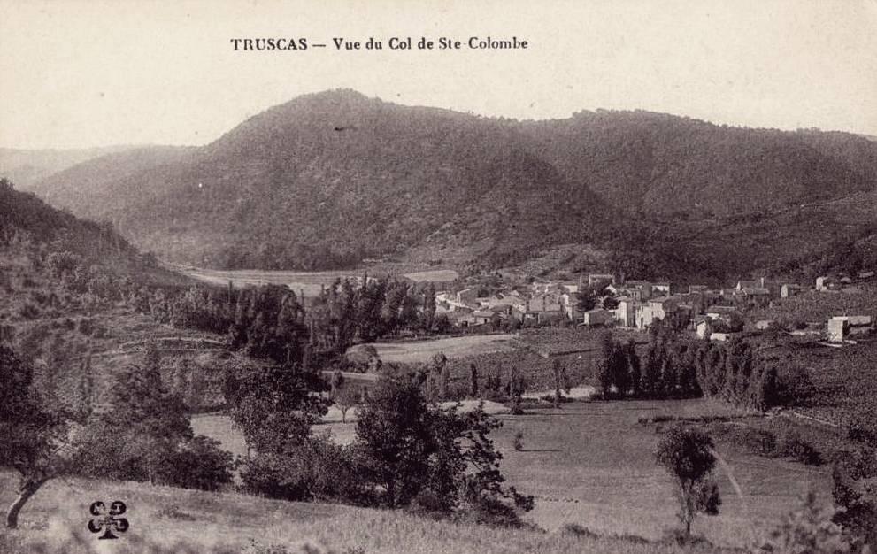 Avène (Hérault) Truscas CPA