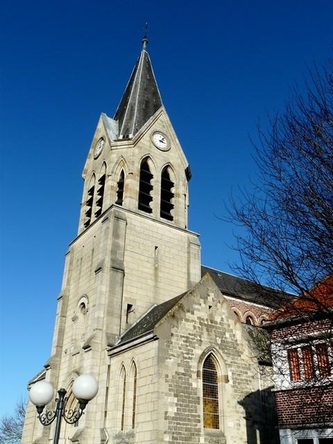 Avesnes les aubert 59 l eglise saint remi