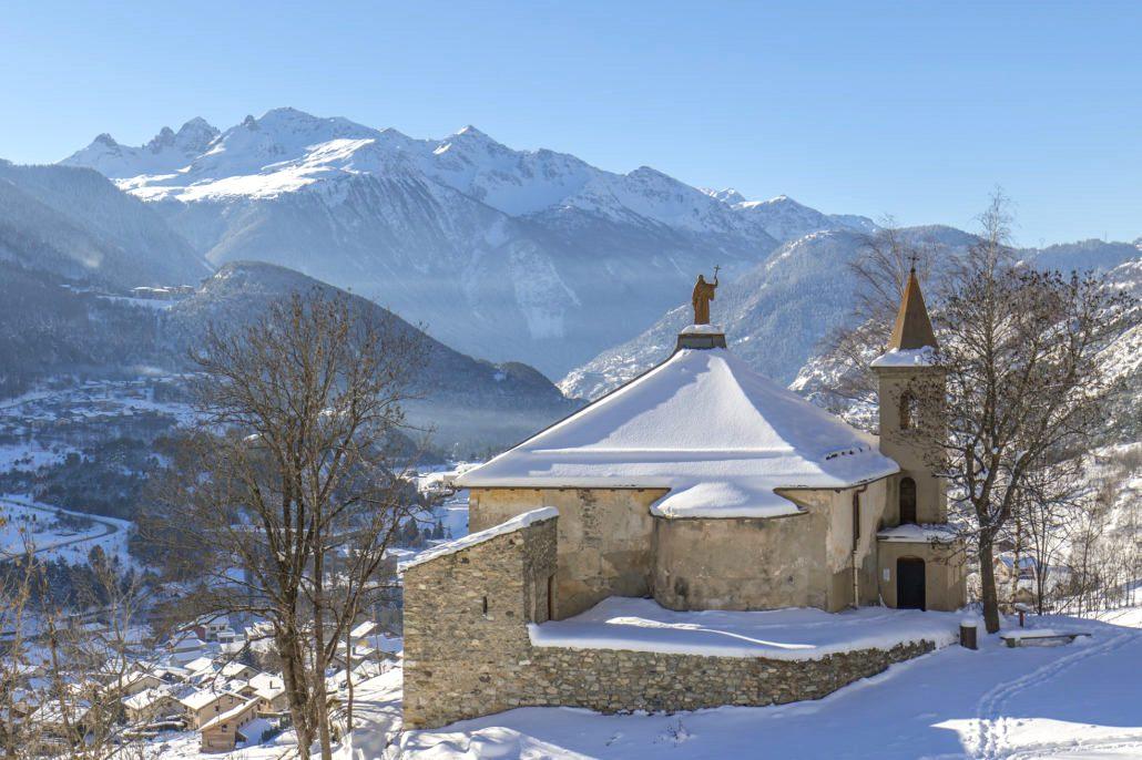 Avrieux (Savoie) La chapelle Saint Benoît