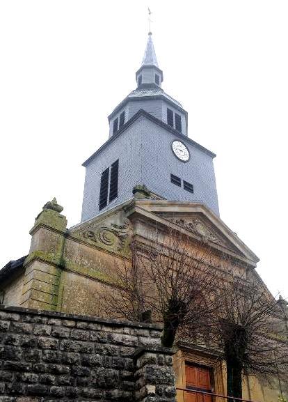 Baâlon (Meuse) L'église Saint-Blaise