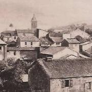Baâlon (Meuse) Vue générale 1918 CPA