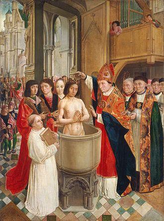 Baptème de Clovis