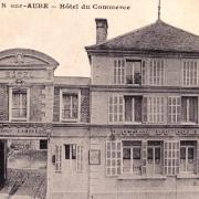 Bar-sur-Aube (10) L'Hôtel du Commerce CPA