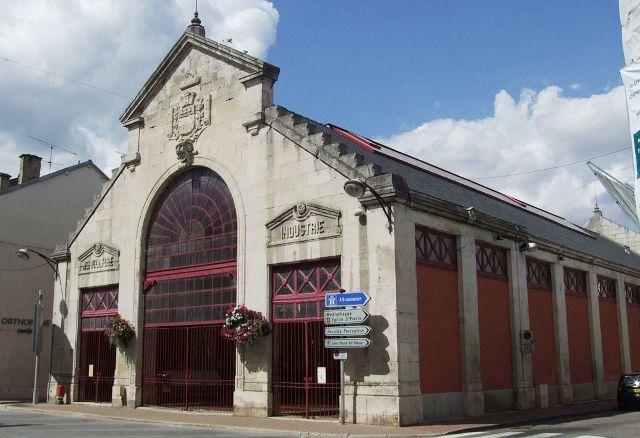 Bar-sur-Aube (10) La Halle