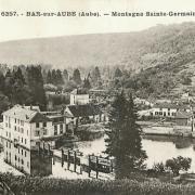 Bar-sur-Aube (10) La montagne Sainte-Germaine CPA
