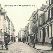 Bar-sur-Aube (10) La rue Nationale CPA
