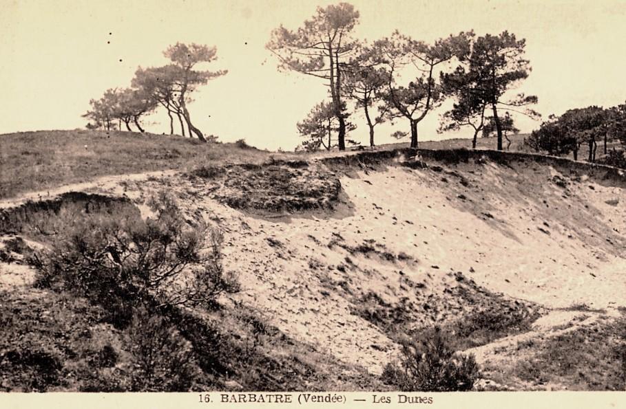 Barbâtre (Vendée) Les dunes CPA