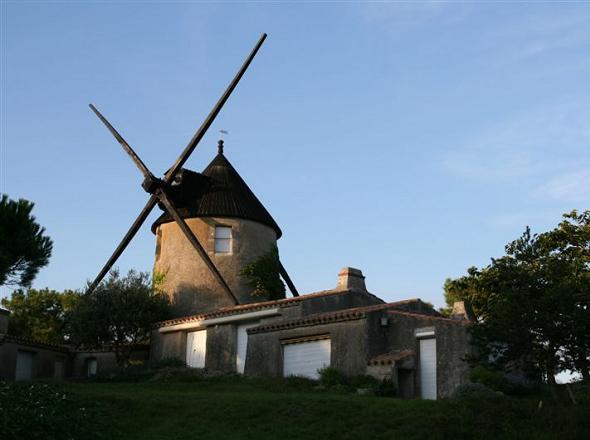 Barbâtre (Vendée) Moulin de La Fosse CPA