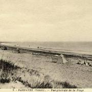 Barbâtre (Vendée) Plage CPA