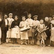 Georgette Joséphine Aimable Barranger (4ème de gauche)