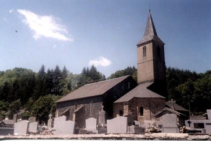 Barre (Tarn) Cabannes, église Saint Hilaire