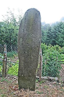 Barre (Tarn) Le Cantoul, statue-menhir