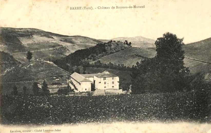 Barre (Tarn) CPA château de Barreau de Muratel