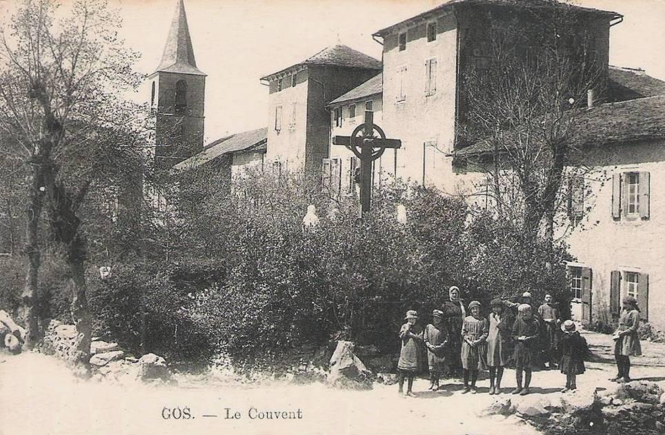 Barre (Tarn) CPA Gos, château devenu couvent