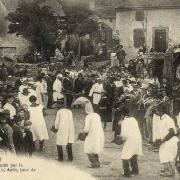 Barre (Tarn) CPA La Buffatière du 15 août