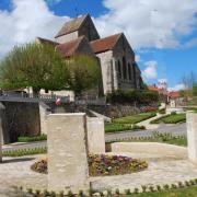 Baulne-en-Brie (Aisne) Le mur de mémoire