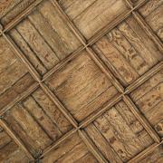 Baulne-en-Brie (Aisne) L'église Saint Barthélémi, le plafond