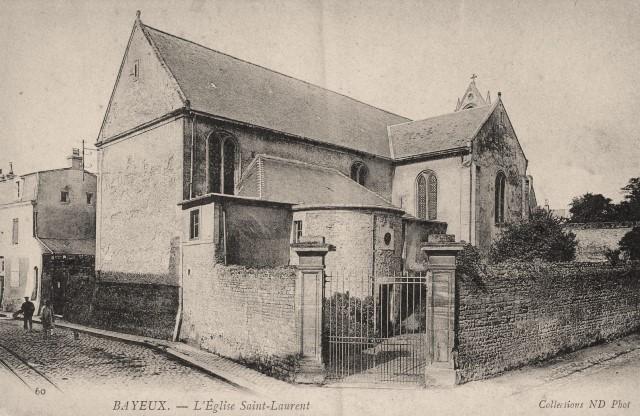 Bayeux calvados l eglise saint laurent cpa