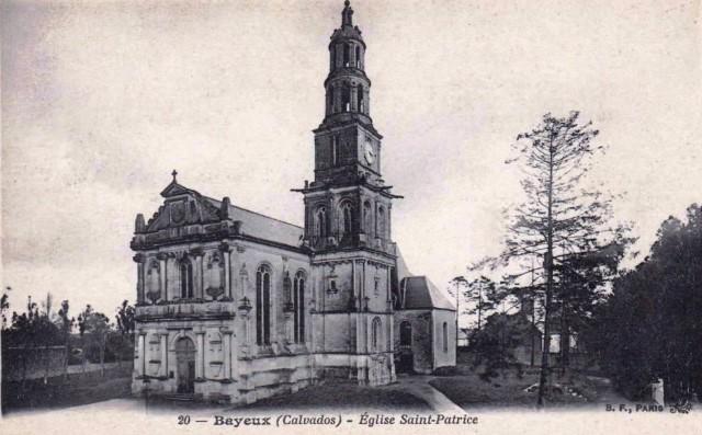Bayeux calvados l eglise saint patrice cpa