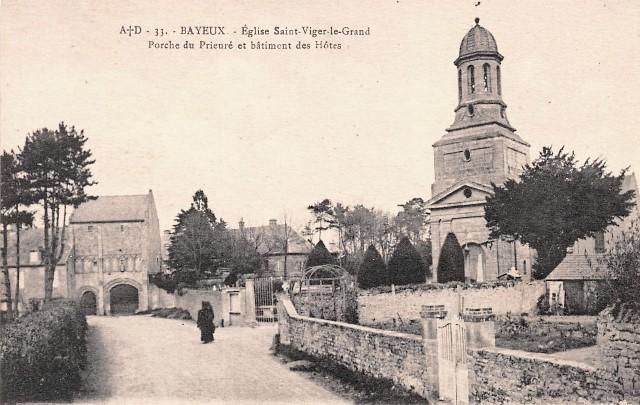 Bayeux calvados l eglise saint vigor le grand cpa