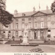 Bayeux calvados l hotel de ville cpa