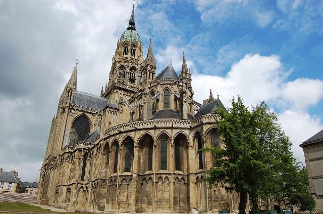 Bayeux calvados la cathedrale
