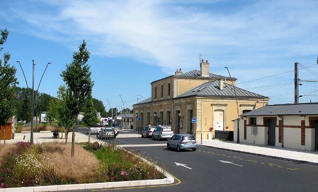 Bayeux calvados la gare