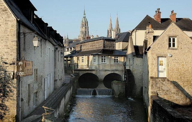 Bayeux calvados la riviere aure