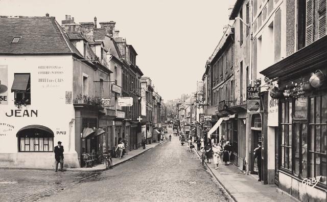 Bayeux calvados la rue saint jean cpa