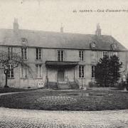 Bayeux calvados le palais episcopal cpa