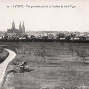 Bayeux calvados vue generale cpa