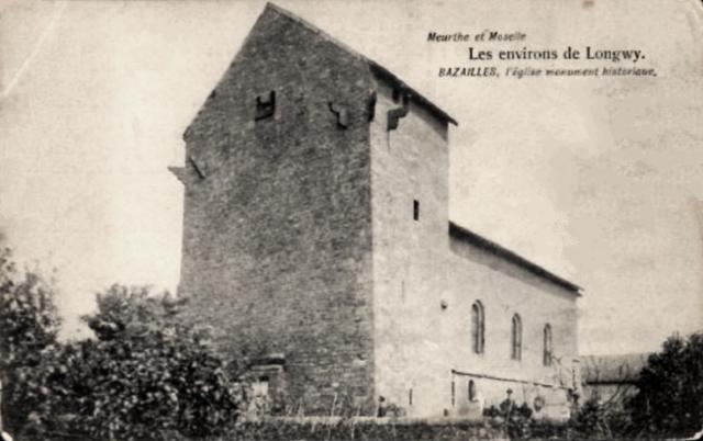 Bazailles 54 l eglise saint martin cpa