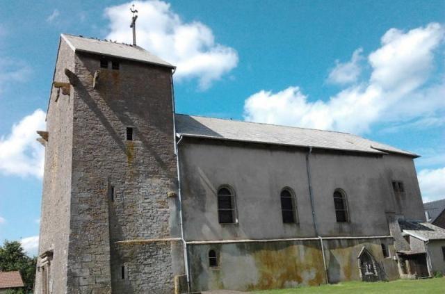 Bazailles 54 l eglise saint martin