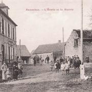 Bazoches (Nièvre) La mairie et l'école CPA