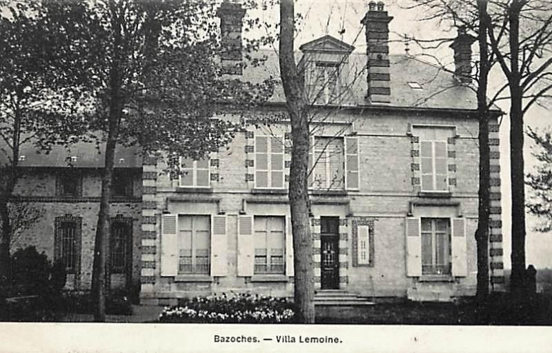 Bazoches (Nièvre) La villa Lemoine CPA