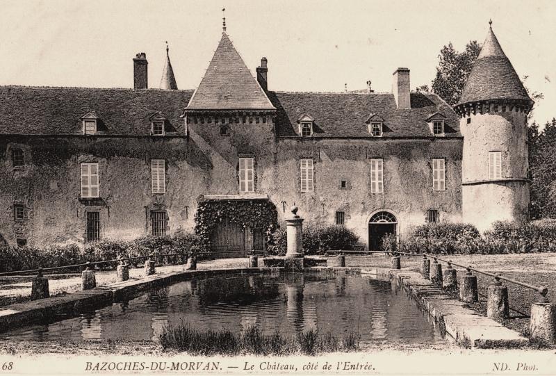 Bazoches (Nièvre) Le château CPA