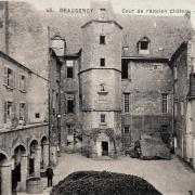 Beaugency (45) Château Dunois, dépôt de mendicité CPA