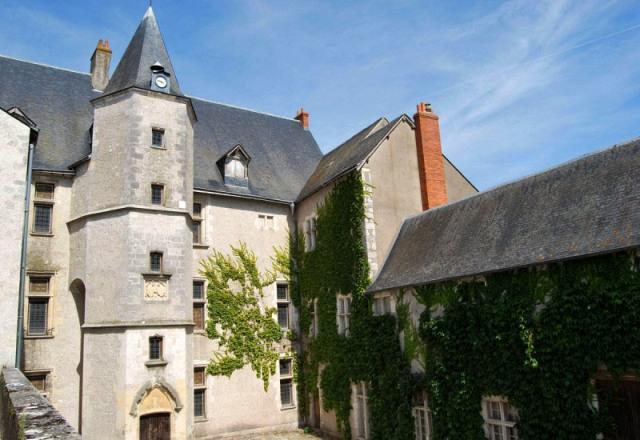 Beaugency (45) Château Dunois