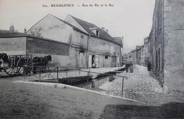 Beaugency (45) Rue du Ru CPA