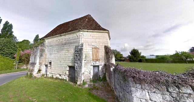 Beaulieu-lès-Loches (37) Chapelle de La Madeleine