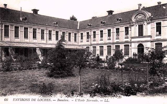 Beaulieu-lès-Loches (37) Ecole Normale CPA