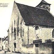 Beaulieu-lès-Loches (37) Eglise Saint-Laurent CPA