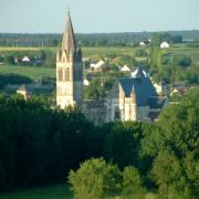 Beaulieu-lès-Loches (37) Eglise Saint-Pierre Saint-Paul