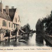 Beaulieu-lès-Loches (37) Vieilles maisons du XVème CPA