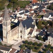 Beaulieu-lès-Loches (37) Vue générale