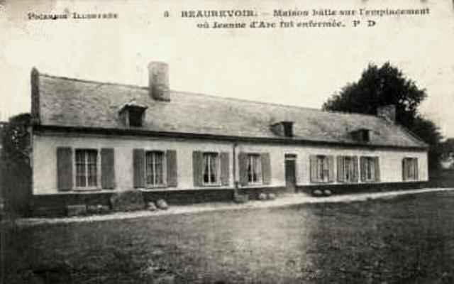 Beaurevoir aisne cpa maison emplacement chateau