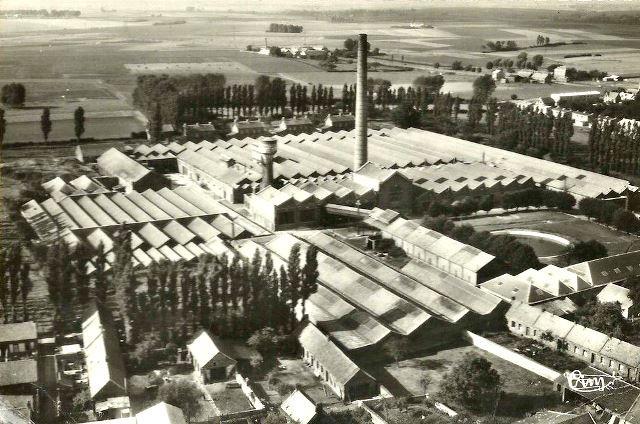 Beauvois en cambresis 59 l usine seydoux et michaux cpa