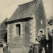 Beauvois en cambresis 59 la chapelle sainte anne cpa