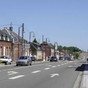 Beauvois en cambresis 59 la Route Nationale