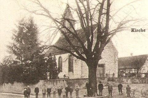 Behlenheim 67 l eglise saint georges cpa